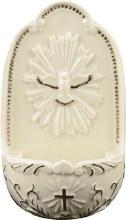 Cream Porcelain Holy Spirit (12.5cm)