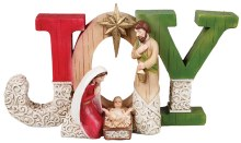 Joy Holy Family Nativity (25cm)