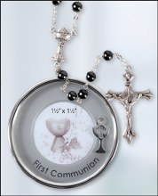 C63421 Silver Plated First Holy Communion Keepsake