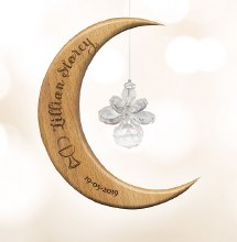 Personalised First Communion Angel Moon