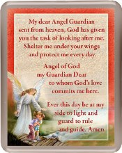 Guardian Angel Fridge Magnet