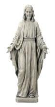 Sacred Heart Resin Grave Statue (50cm)
