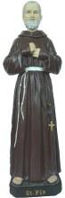 Padre Pio Outdoor Statue (60cm)