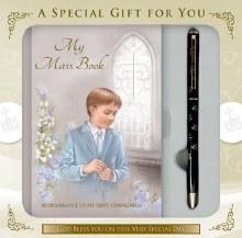 Boy First Holy Communion Set with Prayerbook
