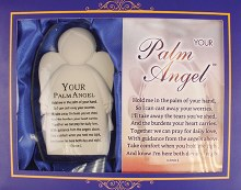 Glass 'Your Palm Angel' Gift Box