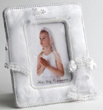 Embroidered First Holy Commnunion Photo Frame