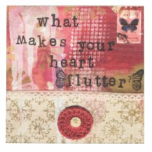 Make Your Heart Flutter Wall Art