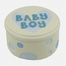 Baby Boy Trinket Box