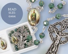 Rosary Medal Set with St Patrick
