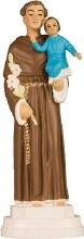 St Anthony Plastic Statue (15cm)