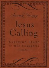 Jesus Calling, Brown Imitation Leather