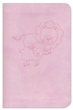 CSB Baby's New Testament with Psalms Pink Leather