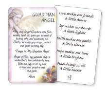 Guardian angel wallet card