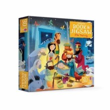 The Nativity, book and 30 piece jigsaw