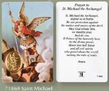 St Michael Prayer Leaflet