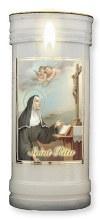 St Rita Pillar Candle