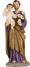 St Joseph Resin Statue (10cm)