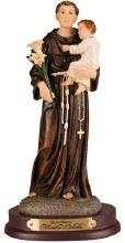St Anthony Resin Statue (20cm)