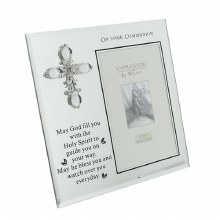 Glass First Holy Communion Frame
