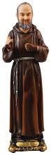 52981 St Pio Florentine Statue 20cm