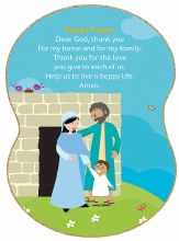 Family Prayer Grow In Love Plaque 38 x 27.6cm
