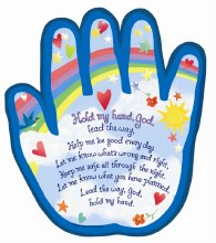 Hold My Hand Hanging Plaque