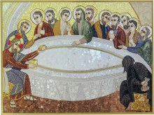 Last Supper Mosaic Icon