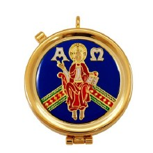Christ the Teacher Pyx (12 hosts)
