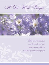 Get Well Prayer Card