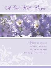 Get Well Prayer Card