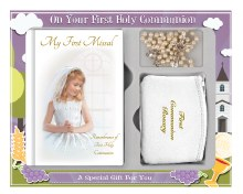 C5191 Girl  First Holy Communion Gift set