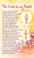 The Cross In My Pocket PrayerCard