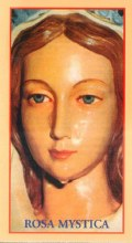 Rosa Mystica Prayer Card