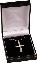 Silver Plated Crucifix necklet