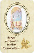Prayer for Success in Your Examinations card