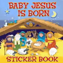 RUC ND - Baby Jesus is Born, sticker book