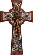 Resin Celtic Crucifix (25cm)