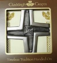 St Brigid's Cross Plaque (16 x 16cm)