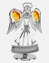 First Communion Crystal Angel