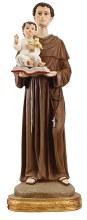48551 St Anthony Fibreglass Statue 60cm