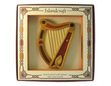 5 inch Irish Harp Wall Hanging
