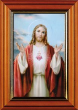 Sacred Heart Picture (17 x 12cm)