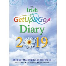 2019 Irish Get Up and Go Diary, padded hardback