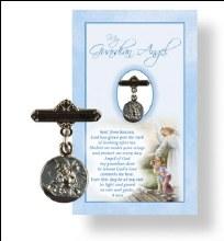 Baby Boy Angel Medal and Prayer