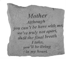 15720 Although Mother Memorial stone