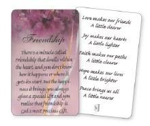 Friendship Wallet Card