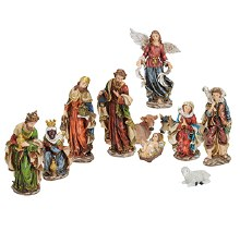 Eleven Piece Nativity Set