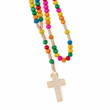 Multi Coloured Rosary Beads