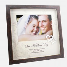 Wedding Day Frame with Mount and Heart Icon