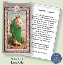 St Jude Prayercard and Medal
